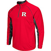 Colosseum Men's Rutgers Scarlet Knights Scarlet Airstream Quarter-Zip