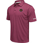 Colosseum Men's Temple Owls Cherry Axis Polo