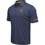 Colosseum Men's East Tennessee State Buccaneers Navy Axis Polo
