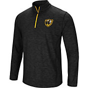 Colosseum Athletics Men's VCU Rams Action Pass Quarter-Zip Black Shirt