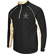 Colosseum Men's Vanderbilt Commodores Blue Airstream Quarter-Zip Windshirt