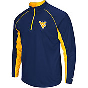 Colosseum Men's West Virginia Mountaineers Blue Airstream Quarter-Zip