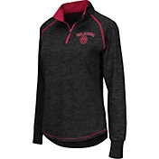 Colosseum Women's Oklahoma Sooners Black Bikram Quarter-Zip Top