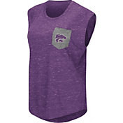 Colosseum Athletics Women's Kansas State Wildcats Purple Pocket Tank Top