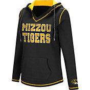 Colosseum Women's Missouri Tigers Black Spike Fleece Hoodie