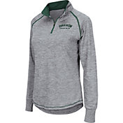 Colosseum Women's Oregon Ducks Grey Bikram Quarter-Zip Top