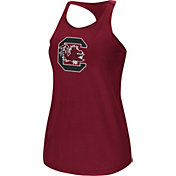 Colosseum Women's South Carolina Gamecocks Garnet Mesh Tank