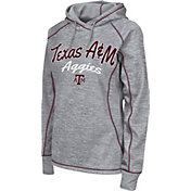 Colosseum Women's Texas A&M Aggies Grey Crossneck Pullover Hoodie