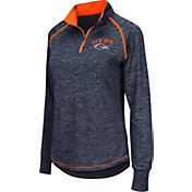Colosseum Women's UT San Antonio Roadrunners Blue Bikram Quarter-Zip Top