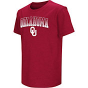 Colosseum Youth Oklahoma Sooners Crimson Dual Blend T-Shirt