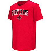 Colosseum Youth Louisiana-Lafayette Ragin' Cajuns Red Dual Blend T-Shirt