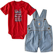 Carhartt Infant Boys' Making Tracks Overall Set