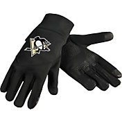 Forever Collectibles Pittsburgh Penguins Texting Black Gloves