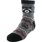 Field & Stream Youth Cozy Cabin Crew Raccoon Socks