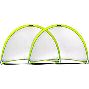 Franklin 6' x 4' Pop-Up Soccer Goal Set - 2 Pack