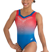 GK Elite Women's Lady Liberty Gymnastics Tank Leotard