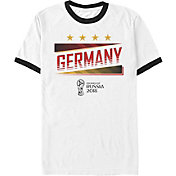 Fifth Sun Men's 2018 FIFA World Cup Germany Ringer White T-Shirt