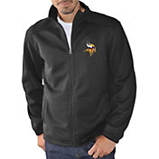 G-III Men's Minnesota Vikings Audible Black Full-Zip Jacket