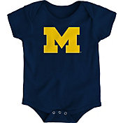Gen2 Infant Michigan Wolverines Blue Logo Onesie