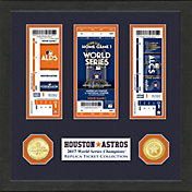 Highland Mint 2017 World Series Champions Houston Astros Ticket Collection
