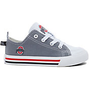 Skicks Ohio State Buckeyes Youth Low Top Sneaker