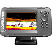Lowrance HOOK2-5 SplitShot GPS Fish Finder with US/CAN NAV+ Bundle