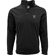 Levelwear Men's Texas Tech Red Raiders Black Metro Quarter-Zip Pullover