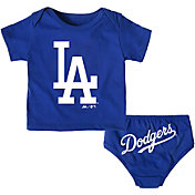 Majestic Infant Los Angeles Dodgers 2-Piece Mini Uniform Set