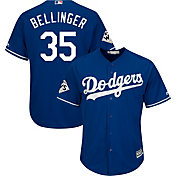 Majestic Men's 2017 World Series Replica Los Angeles Dodgers Cody Bellinger Cool Base Alternate Royal Jersey