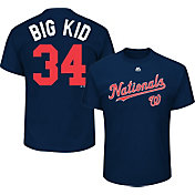 Majestic Men's Washington Nationals Bryce Harper 'Big Kid' MLB Players Weekend T-Shirt