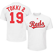 Majestic Men's Cincinnati Reds Joey Votto 'Tokki 2' MLB Players Weekend T-Shirt