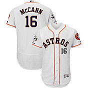 Majestic Men's 2017 World Series Champions Authentic Houston Astros Brian McCann Flex Base Home White On-Field Jersey
