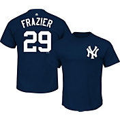 Majestic Men's New York Yankees Todd Frazier #29 Navy T-Shirt