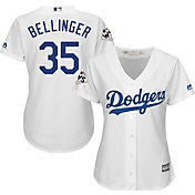 Majestic Women's 2017 World Series Replica Los Angeles Dodgers Cody Bellinger Cool Base Home White Jersey