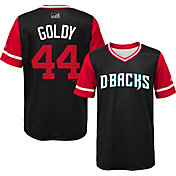 Majestic Youth Arizona Diamondbacks Paul Goldschmidt 'Goldy' MLB Players Weekend Jersey Top