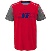Majestic Youth Texas Rangers Cool Base Club Series Red Performance T-Shirt
