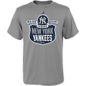 Majestic Youth New York Yankees Team Seal Grey T-Shirt