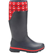 Muck Boots Women's Cambridge Anchors Tall Rain Boots