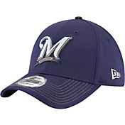 New Era Men's Milwaukee Brewers 39Thirty PROLIGHT Batting Practice Stretch Fit Hat