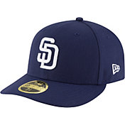 New Era Men's San Diego Padres 59Fifty Home Navy Low Crown Authentic Hat