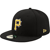 New Era Men's Pittsburgh Pirates 59Fifty Alternate Black Authentic Hat