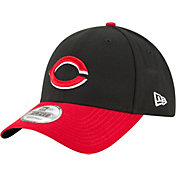 New Era Men's Cincinnati Reds 9Forty Black/Red Adjustable Hat