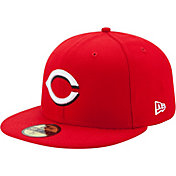 New Era Men's Cincinnati Reds 59Fifty Home Red Authentic Hat