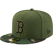 New Era Men's Boston Red Sox 59Fifty 2017 Memorial Day Camo Authentic Hat