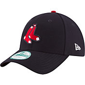New Era Men's Boston Red Sox 9Forty Navy Adjustable Hat