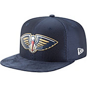 New Era Men's New Orleans Pelicans On-Court 9Fifty Adjustable Snapback Hat