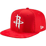 New Era Men's Houston Rockets On-Court 9Fifty Adjustable Snapback Hat