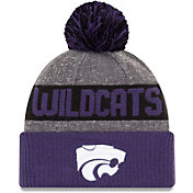 New Era Men's Kansas State Wildcats Grey NE16 Sport Knit Beanie