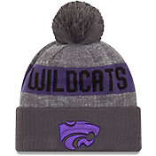 New Era Men's Kansas State Wildcats Grey Sport Knit Beanie