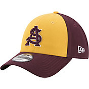 New Era Men's Arizona State Sun Devils Gold/Maroon The League Blocked 9FORTY Adjustable Hat